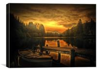 Spring Silence, Canvas Print