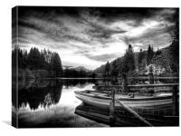 Loch Ard Scotland, Canvas Print
