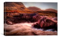 Glen Etive, Canvas Print