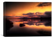 Loch Ba Sunrise, Canvas Print