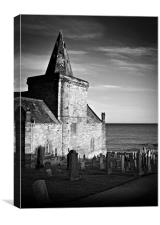 St.Monan's Church in Scotland., Canvas Print