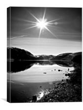 St Mary's Loch In Scotland., Canvas Print