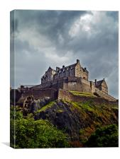 Edinburgh Castle, Scotland., Canvas Print
