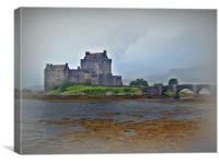 Eilean Donan Castle, Scotland., Canvas Print