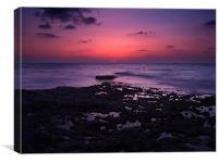 Touching The Horizon, Canvas Print