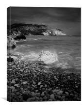 Overcast On Aphodite's Beach, Canvas Print
