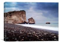 Aphrodite's Rock, Canvas Print