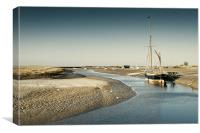 The Juno at Blakeney, Canvas Print