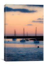 Serenity at Sunset, Canvas Print