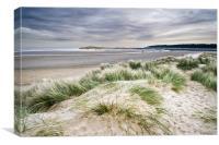 Holkham Sand Dunes, Canvas Print