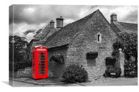 Red Telephone Box at Upper Slaughter