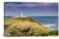 Strumble Head Lighthouse, Canvas Print