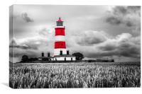 Happisburgh Lighthouse in Red