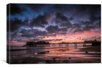Cromer Pier at Dawn, Canvas Print
