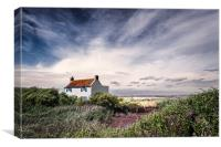 House at Brancaster Staithe, Canvas Print