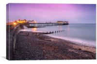 Dawn at Cromer Pier, Canvas Print