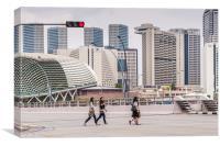 Singapore Business Quarter, Canvas Print