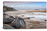 Happisburgh Beach, Canvas Print