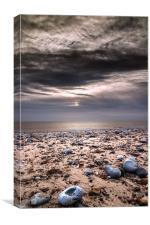 Newport beach hemsby, Canvas Print