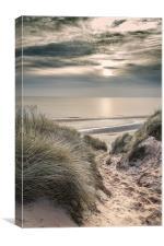 Newport, Hemsby, Norfolk, Canvas Print