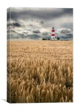 Happisburgh Lighthouse, Canvas Print