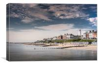 Southwold sea fromt, Canvas Print