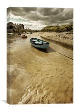 Tides out, Canvas Print