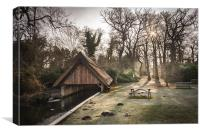 Thatched Boathouse at Fairhaven Water Gardens