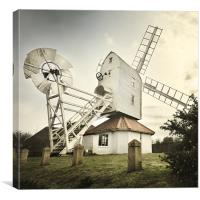 Thorpeness windmill, Suffolk, Canvas Print