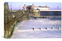 Cromer Pier and Seawall, Canvas Print