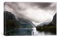 Millford Sound, Canvas Print