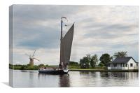 The Wherry Albion, Canvas Print