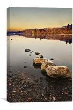Coniston Morning, Canvas Print