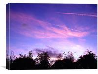 Evening Sunset, Canvas Print