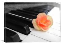 The Piano, Canvas Print