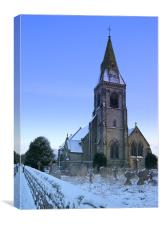 Rangemore All Saints, Staffordshire, Canvas Print