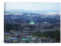 View from Edinburgh Castle, Canvas Print