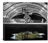 Hangar 18, Canvas Print