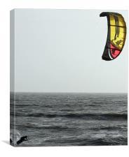Kite-surfin., Canvas Print