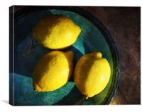 Lemons, Canvas Print