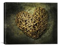 Old Heart, Canvas Print