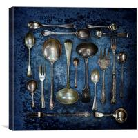 Spoons & Forks, Canvas Print