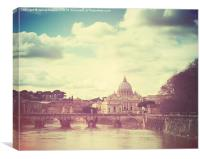 St Peters by Day, Canvas Print
