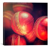 Cricket Balls, Canvas Print