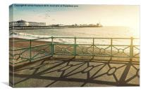 Day out in Brighton, Canvas Print