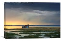 Approaching Rainstorm, Canvas Print