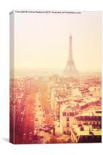 Vintage Paris, Canvas Print
