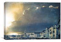 Venice Storm, Canvas Print