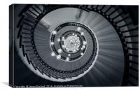 Spiral Staircase, Canvas Print