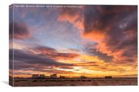 Dungeness Sunset, Canvas Print